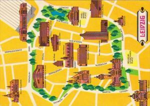 Germany Leipzig Map