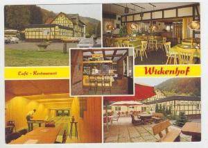 Cafe-Restaurant WICKENHOF, Bad Wildungen-Reitzenhagen, Germany, 50-60s