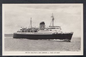 Shipping Postcard - British Railways Car Carrier S.S.Maid of Kent  HP524