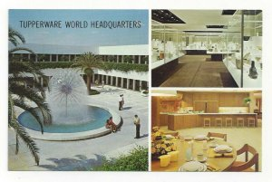 South of ORLANDO, Florida, 1940-60s; 3-Views, Tupperware World Headquarters