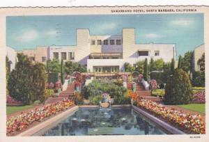 California Santa Barbara The Samarkhand Hotel 1935