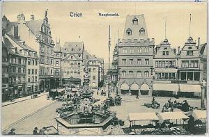 Ansichtskarte  VINTAGE POSTCARD: GERMANY -   Trier - MARKT
