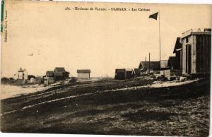 CPA Env. de VANNES - DAMGAN - Les Cabines (205850)