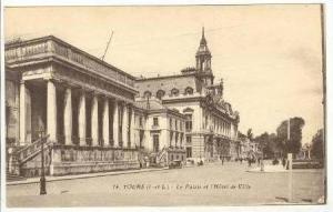 La Palais et l'Hotel de Ville, Tours (Indre et Loire), France, 00-10s