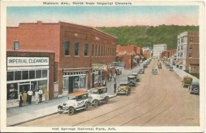 Hot Springs National Park Arkansas, Malvern Avenue, North From Imperial Cleaners