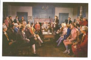 Williamsburg VA Film Scene Colonial Assembly Burgesses