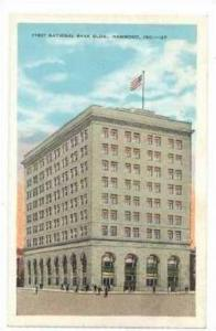 First National Bank Building, Hammond, Indiana, 1910s