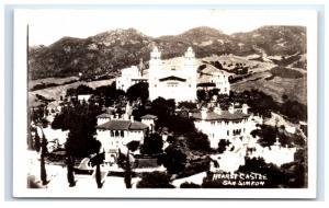 Postcard Hearst Castle, San Simeon, California CA RPPC D16