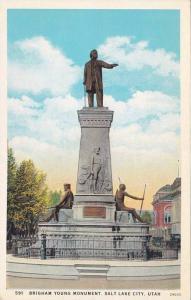Briham Young Monument, Salt Lake City, Utah, 1910-1920s