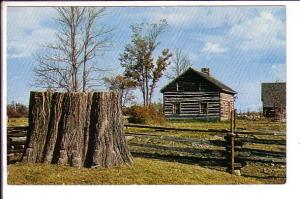 Hired Hand's Log House, Upper Canada Village, Ontario