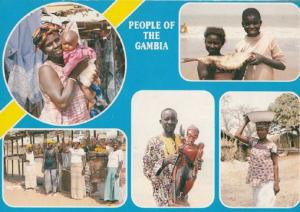 People Of The Gambia Postcard
