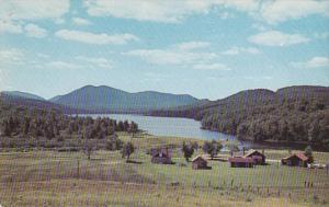 New York Humphrey Lake Chimney Mountain Camp 1952
