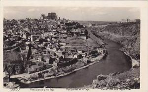 RP, Vista Parcial Y Rio Tajo, Toledo (Castilla-La Mancha) Spain, 1920-1940s