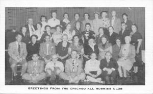 Chicago Illinois~Chicago All Hobbies Club Group Picture~1955 To Corrine Ryia