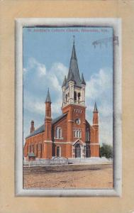 Exterior, St. Joachim's Catholic Church,  Edmonton, Alberta,  PU-1920