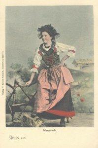 pc9408 postcard Gruss aus Manerarin Austria not postally used MOBSC