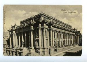 151733 MALTA Valletta Royal OPERA HOUSE Vintage PC