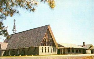 1950s HARRINGTON DELAWARE St Stephens Episcopal Church Kent County Postcard DO