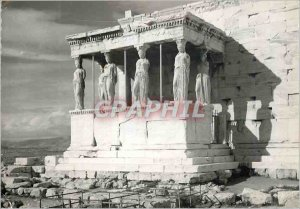Modern Postcard Caryatids The Caryatids Athens Greece