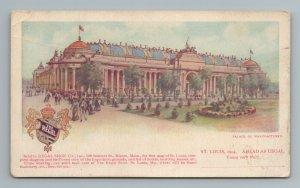 1904 Regal Shoe Co Olive Street St Louis MO Missouri Postcard