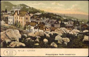 portugal, CINTRA, Panorama Lado Nascente (1908)