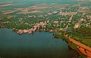 North Carolina Edenton Aerial View
