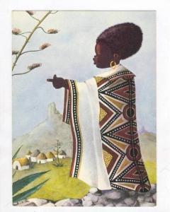 Art postcard  The Chief  Pretoria, 50-60s