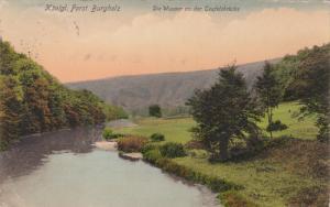 KONIGL, Germany, 1900-1910's; Forst Burghlz, Die Wupper An Der Teufelsbrucke