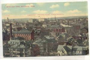 Bird's Eye View, Worcester, Massachusetts, PU-1912