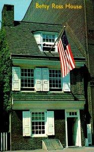 Pennsylvania Philadelphia Betsy Ross House Birthplace Of Old Glory