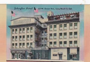 LONG BEACH , California , 1930-40s ; Schuylar Hotel