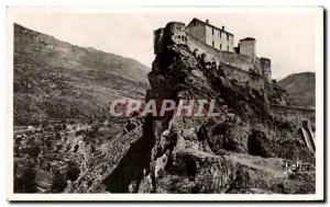 Old Postcard Corte (Corsica) The Citadel