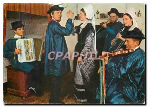 Postcard Modern Foklore Poitou The Chaboussant Research Group and expression ...