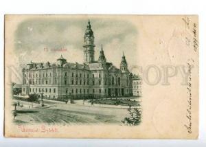 152117 UDVOZLET Hungary Greeting Gyor GYORBOL New Town Hall