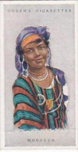 Ogdens Vintage Cigarette Card Children Of All Nations 1924 No 27 Morocco