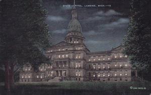 Michigan Lansing State Capitol 1944
