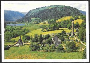 Ireland, Wicklow, Glendalough, (5x7 PC) unused