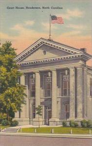 North Carolina Handerson Court House