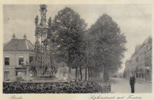 BREDA , Netherlands , 1920-30s ; Water Fountain