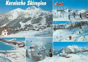 Karnische Skiregion Sonnenalpe Nassfeld, Seilbahn und Liftanlagen, Schigebiet