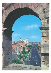 Rome Italy Imperial Forum Road Via del Fori Imperiali