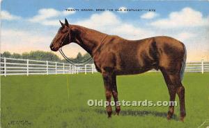 Twenty Grand, Bred, Mrs Payne Whitney's Greentree Farm Lexington, Kentuc...