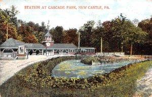 Station at Cascade Park New Castle, Pennsylvania PA