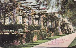 Carlifornia Pasadena Celebrated Pergola Hotel Maryland