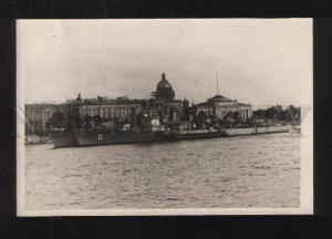 076067 RUSSIA Leningrad naval ships & admiralty Vintage photo