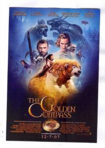 Polar Bear & cast, Movie The GOLDEN COMPASS, 2007 Poster Art