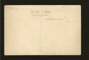 Vintage S S DORIC Black & White Real Photo Postcard