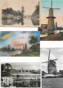 Windmill - Postcard lot of 11 Mills 01.09