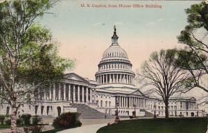 U S Capitol From House Office Building Washington D C