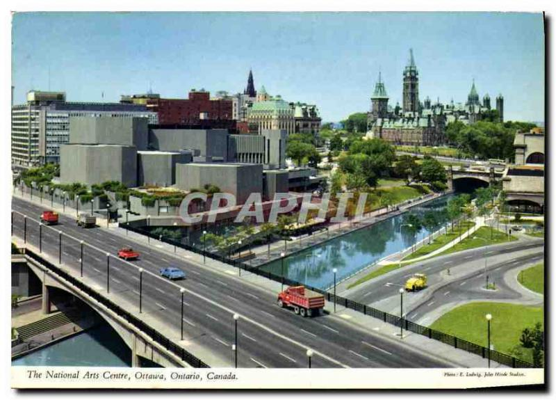 Modern Postcard national The Arts Centers Ottawa Ontario Canada